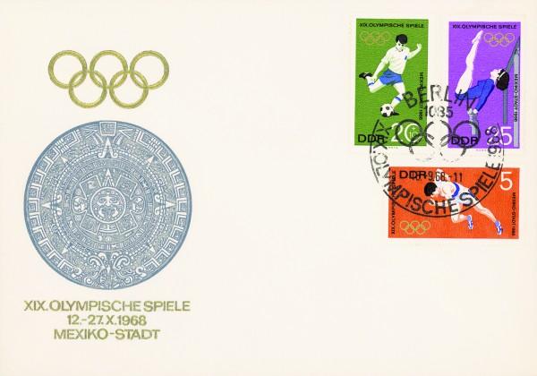 DDR FDC MiNr. 1404/09 Olympiade Mexiko