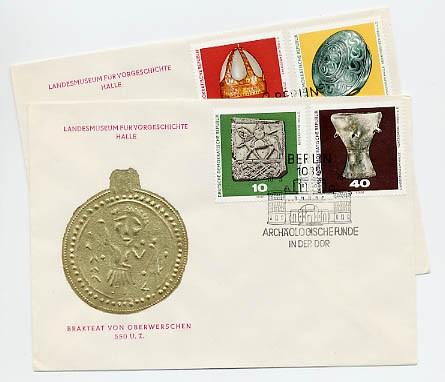 DDR FDC MiNr. 1553/56 Archäologische Funde