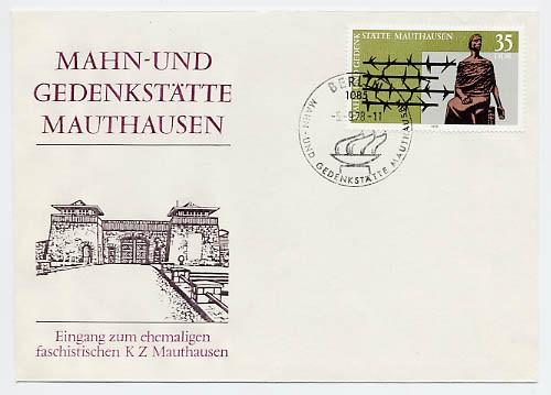 DDR FDC MiNr. 2356 Gedenkst. Mauthausen