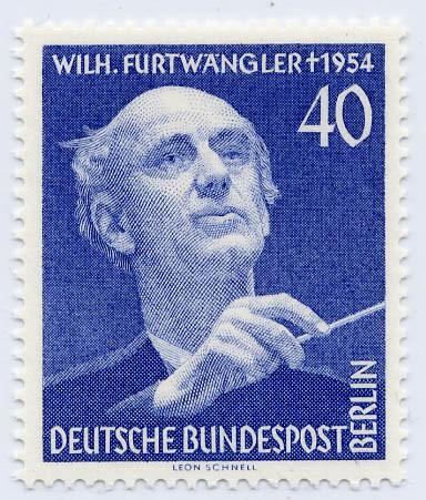 Berlin MiNr. 128 ** 1. Todestag W. Furtwängler
