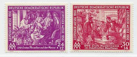 DDR MiNr. 248/49 ** LFM 1950