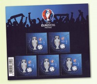 Frankreich Block UEFA Euro 2016 **