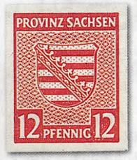 SBZ Prov.Sa. MiNr. 66/71 X ** Freimarken Provinzwappen