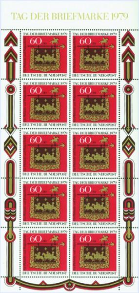 BRD Klbg. MiNr. 1023 ** Tag der Briefmarke 1979