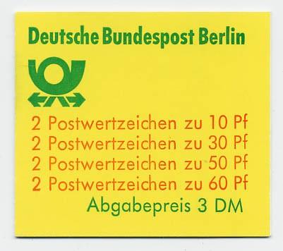 Berlin MH 12b ** Burgen und Schlösser 1980