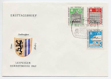 DDR FDC MiNr. 913/15 LHM 1962